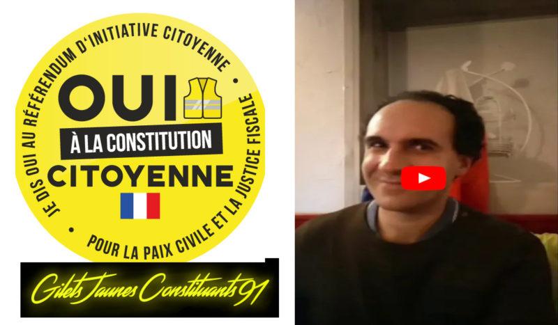 Fadi Kassem débat avec les #giletsjaunes : Le libéralisme et les principes de l'égoïsme  #vidéo