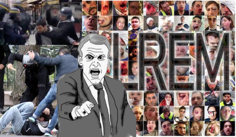 """Manifestations en France: le Venezuela dénonce la """"répression excessive"""" !"""