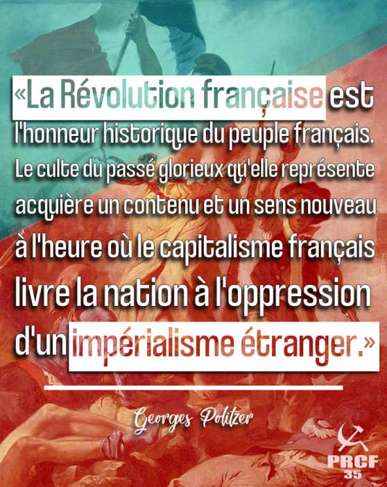 Défendons nous, défendons notre révolution ! par les JRCF
