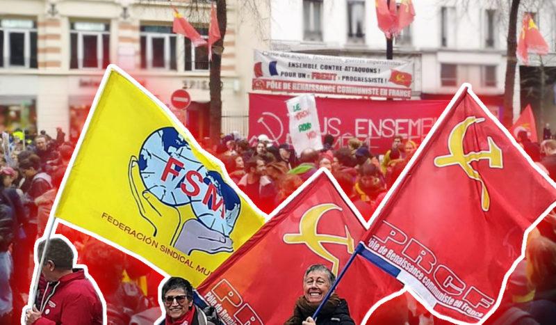 Retraites, hôpitaux, cheminots, avocats, éducation nationale, recherche, culture, salariés exploités, gilets jaunes… Le PRCF sur tous les fronts de classe!