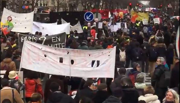 #greve20fevrier la mobilisation en hausse : les chiffres, photos et vidéos des manifestations pour le retrait de la #réformedesretraites.