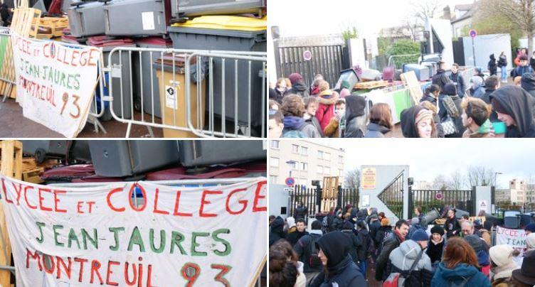 #StopE3C : des dizaines de lycées en action contre le bac Blanquer et ses #E3C en Île de France