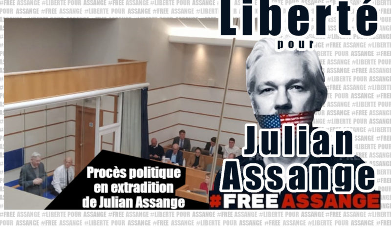 Londres : Julian Assange reste embastillé à l'issue de son procès politique en extradition !