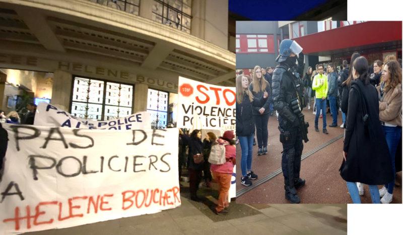 #Retraites, #E3C … les JRCF appellent à ne pas baisser la tête malgré les #violencespolicières !