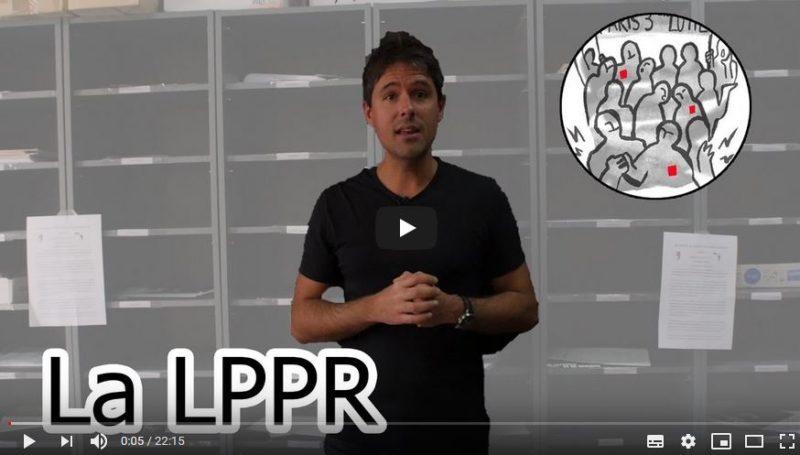 Vidéo : comment la loi #LPPR va détruire et privatiser la Recherche en France !