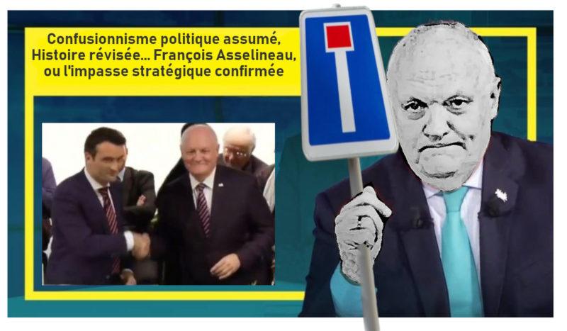 Confusionnisme politique assumé, Histoire révisée… François Asselineau, ou l'impasse stratégique confirmée !