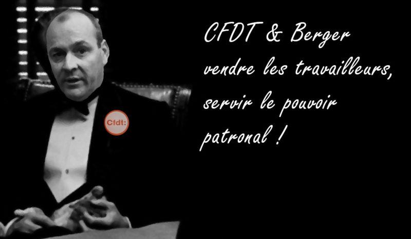 L'ex-syndicat CFDT du commerce fait condamner LAURENT BERGER et la CFDT.