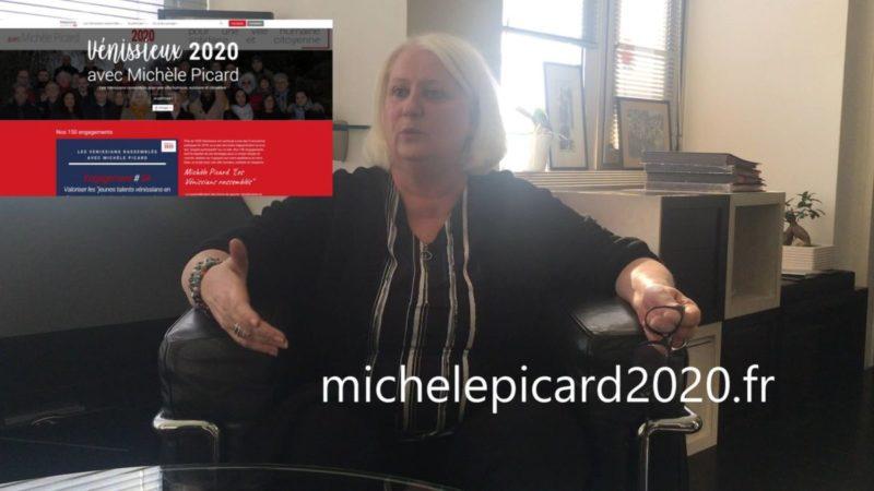Municipales 2020 : entretien avec Michèle Picard maire communiste de Vénissieux (69) #vidéo