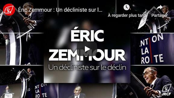 Éric Zemmour : Un décliniste sur le déclin ! #vidéo
