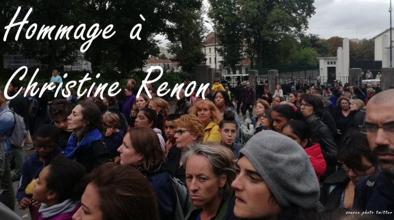 GOUVERNEMENT DE BRUTES : le régime Macron-Blanquer sanctionne les enseignants désireux d'honorer la mémoire de Christine Renon.