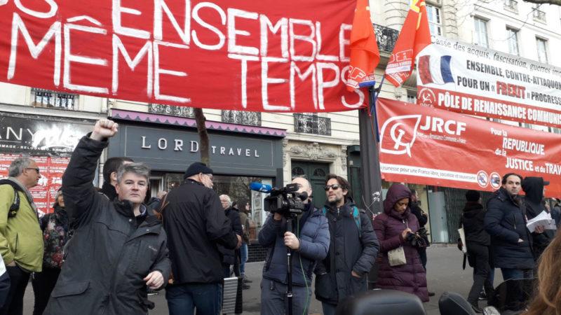#greve3mars : face au #49.3 de Macron-UE-MEDEF,  de #Paris à #Marseille, la mobilisation continue !