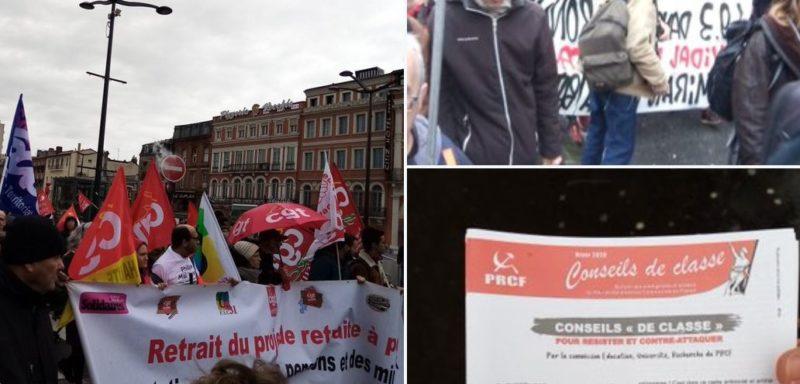 5 mars la convergence étudiants, lycéens, travailleurs en marche contre le #49.3 la #LPPR et les #E3C