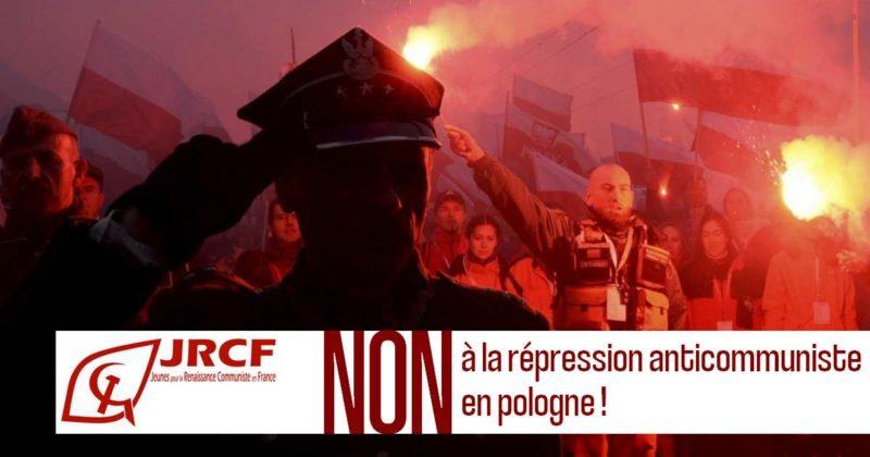 Le parti communiste polonais salue la manifestation de solidarité organisée par le PRCF en France.