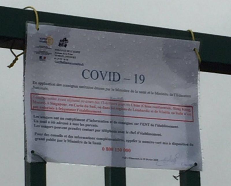#Coronavirus l'Éducation nationale bégaie, bafouille et postillonne !