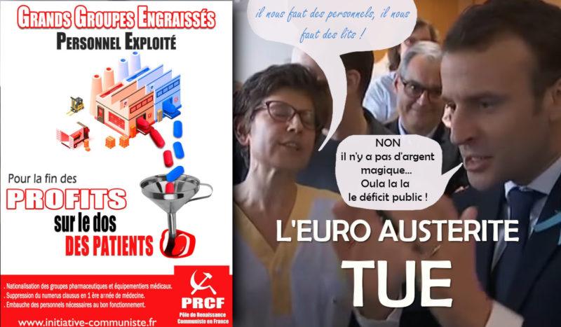 Guerre au coronavirus, union nationale contre Macron-Philippe / MEDEF / UE !