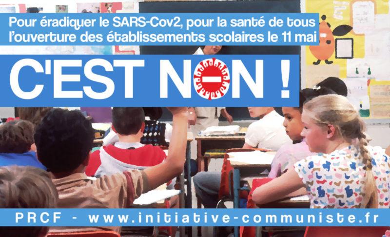 """#Déconfinement #11mai """"Gardez vos enfants à la maison""""  : la lettre ouverte de Jean, instituteur  [dossier spécial: communiqués des parents d'élèves et syndicats]"""