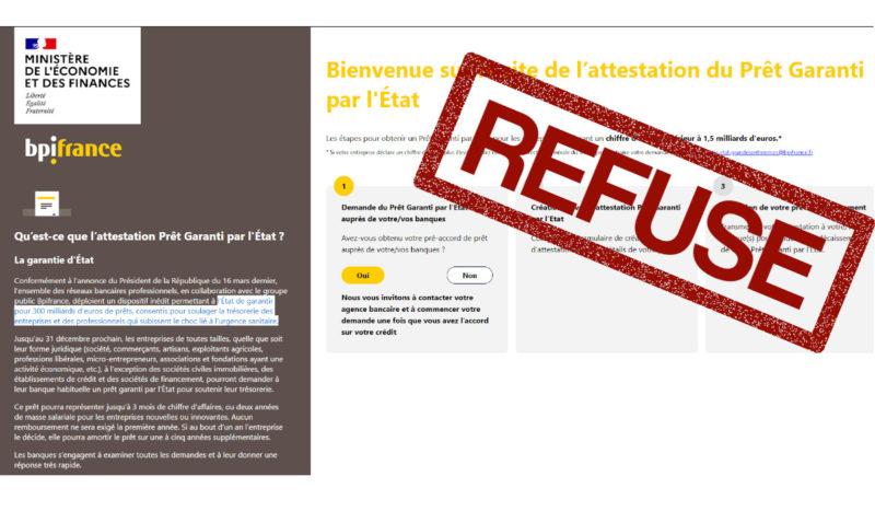 #COVID19 De la discrimination au prêt garanti par l'État – par Me Béranger Tourné.