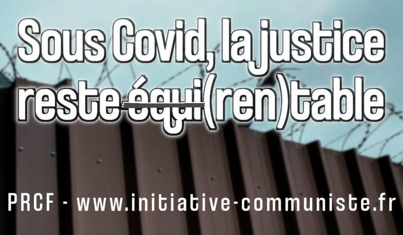 Sous Covid, la justice reste équi(ren)table. #justice #COVID-19