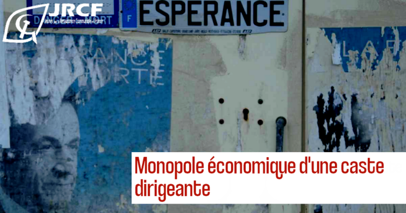 Monopole économique d'une caste dirigeante  [Dossier spécial : La France et le système colonial – l'exemple des Antilles françaises 1/3]