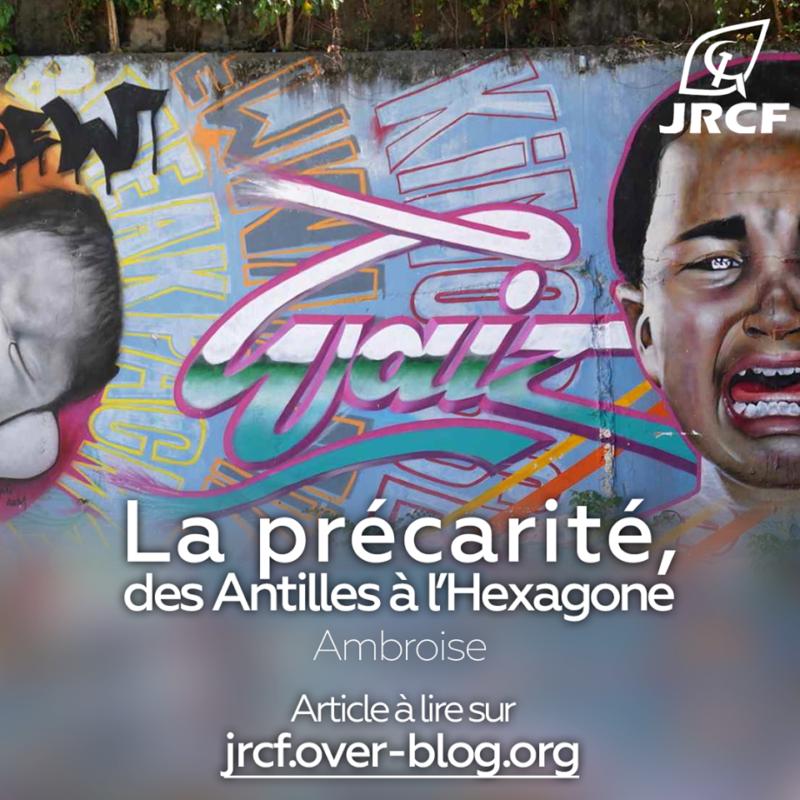 Etudiants :de la précarité des Antilles à l'Hexagone [Dossier spécial : La France et le système colonial – l'exemple des Antilles françaises 4/4]