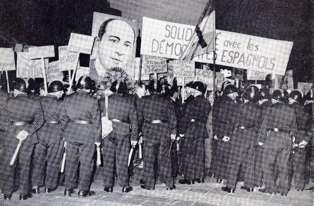 20 avril, hommage à Julian Grimau, dirigeant assassiné du Parti Communiste Espagnol, par le régime fasciste franquiste.