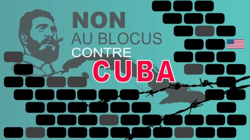 Stop au criminel blocus de Cuba : l'intervention d'A. Monville (PRCF) en vidéo