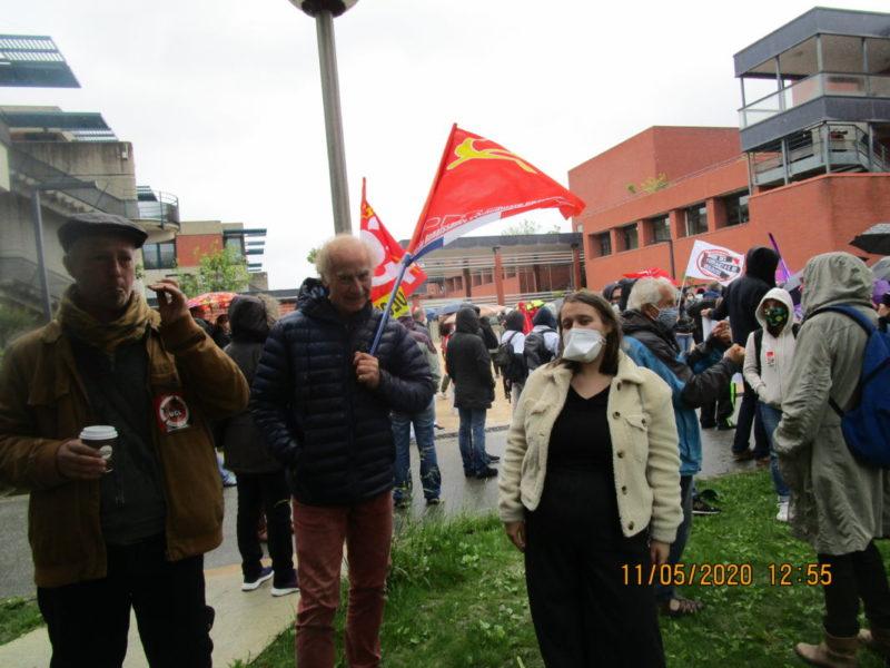 À Toulouse aussi Macron s'en prend à l'hôpital public – manifestation le 7 novembre.