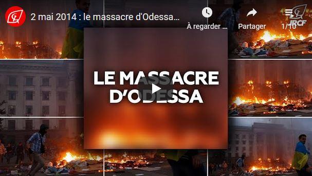 2 mai 2014- 2020 : à bas la fascisation partout en Europe ! Odessa, nous n'oublions pas #vidéo