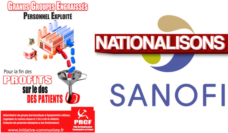 Nationalisation sanction de SANOFI !