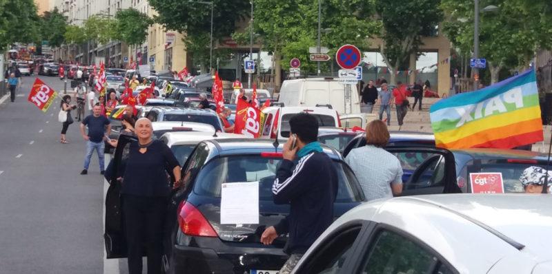 Retour en image sur la manifestation pour de nouveaux jours heureux à Marseille.