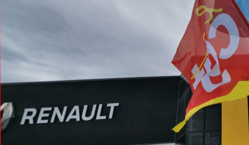Le PRCF apporte son soutien total à la CGT Renault Sandouville et à tous les travailleurs en lutte. #COVID-19