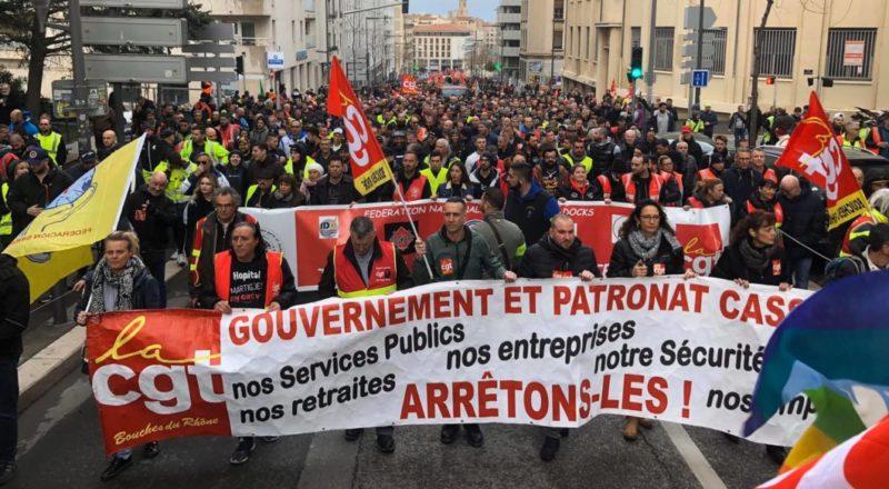 Appel à manifester à Marseille le 19 mai à 18h !