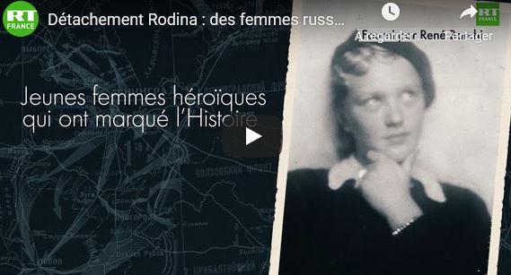 Rodina : l'épopée de 37 jeunes filles soviétique dans la résistance en Lorraine.