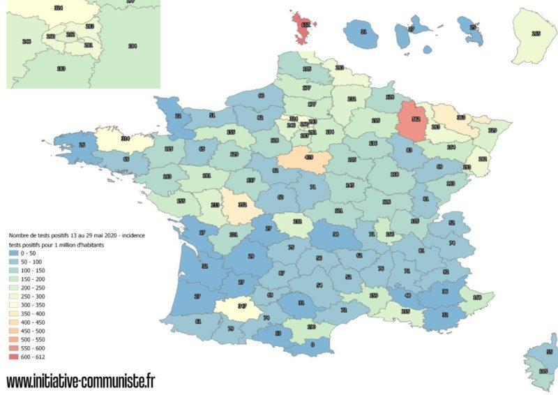 #COVID19fr : Un premier bilan sanitaire du déconfinement : 10 000 nouveaux malades depuis le 11 mai, le virus circule moins, mais toujours !