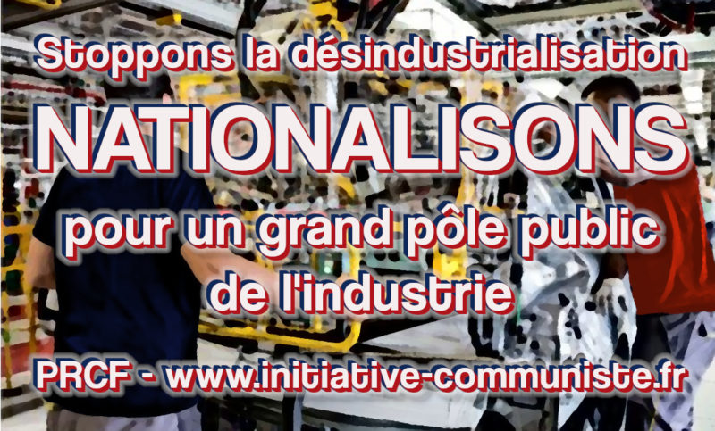 LA DÉSINDUSTRIALISATION TUE  #Tract de soutien aux ouvriers de #Renault