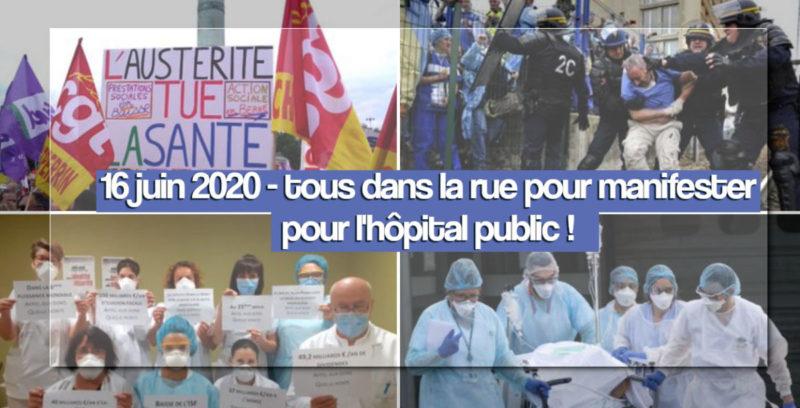 #Anticorps Soutien aux personnels de santé en lutte : en finir définitivement avec l'euro-austérité ! #tract #16juin