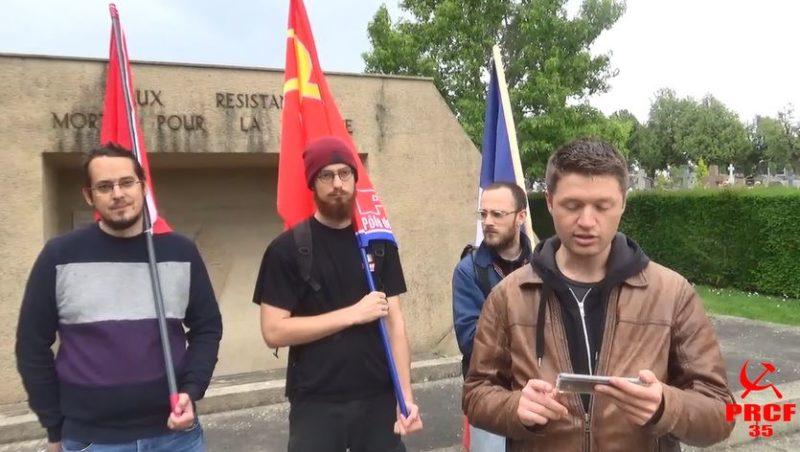 80 ans de l'appel à la Résistance du 17 juin 1940  : l'hommage du PRCF à Tillon et la résistance communiste à Rennes.