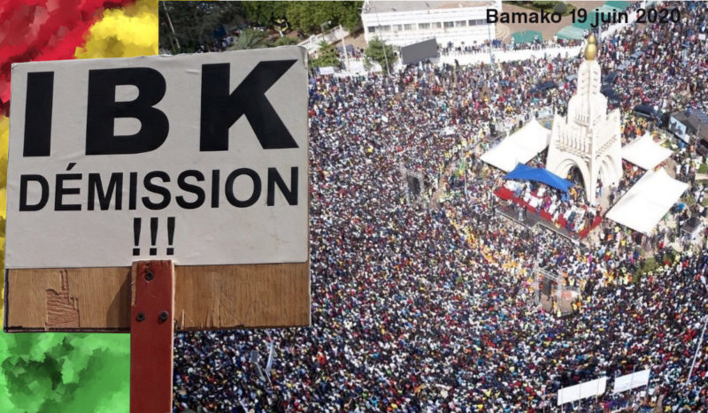 Le Parti SADI du MALI condamne la répression barbare du régime IBK et apporte son soutien total à la résistance du peuple sous la direction du M5/RFP – 12-07-20