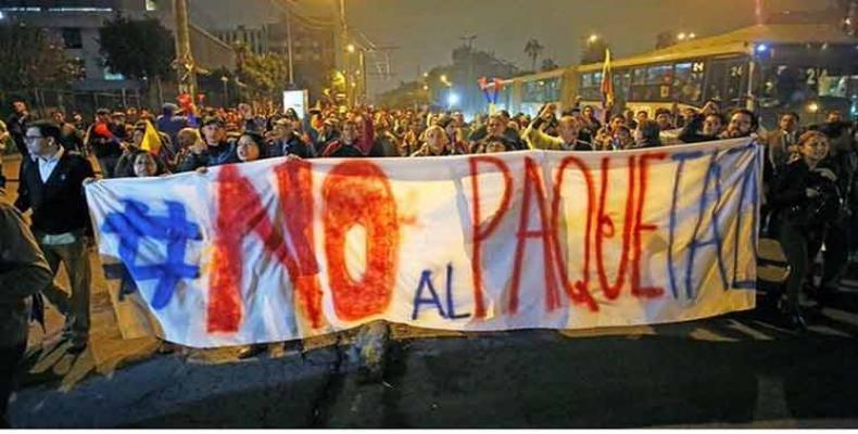Équateur : soulèvement de la jeunesse contre les licenciements et le paquet austéritaire de Moreno.