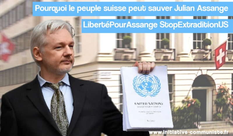 Pourquoi le peuple suisse peut sauver Julian Assange. #FreeAssange #LibertépourAssange #Wikileaks