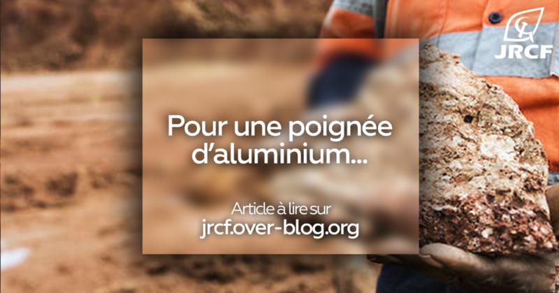 Guinée : pour une poignée d'aluminium !