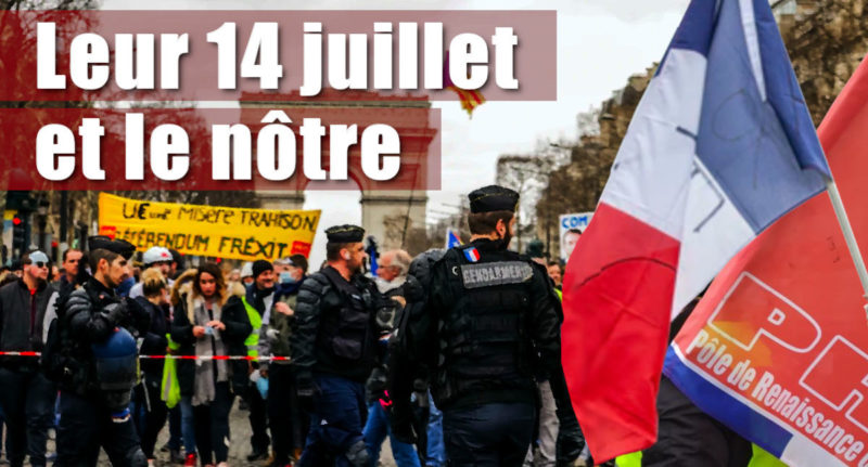 Leur 14 juillet et le nôtre – par Georges Gastaud #14juillet