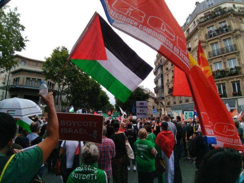 #Palestine : l'appel à la solidarité contre la colonisation, l'annexion et l'apartheid  lancé par Aymeric Monville (PRCF) #vidéo