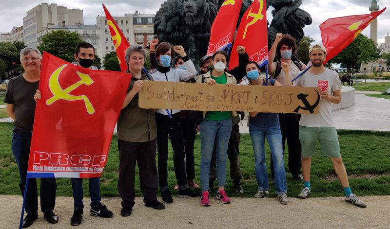 Le socialisme, la seule sortie, solidarité avec les camarades serbes interdits d'élections.