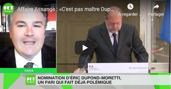Dupont-Moretti inutile et incertain. Le garde des sceaux et Assange.
