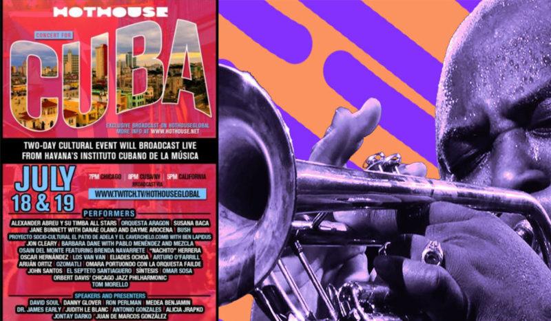 Cuba : concert de solidarité en ligne, à rejoindre en direct sur twitch. 18/07