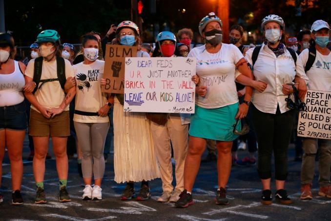 """États-Unis : embrasement social et répression:""""défendez Portland!  Défendez la résistance du peuple !"""" l'appel du WWP."""