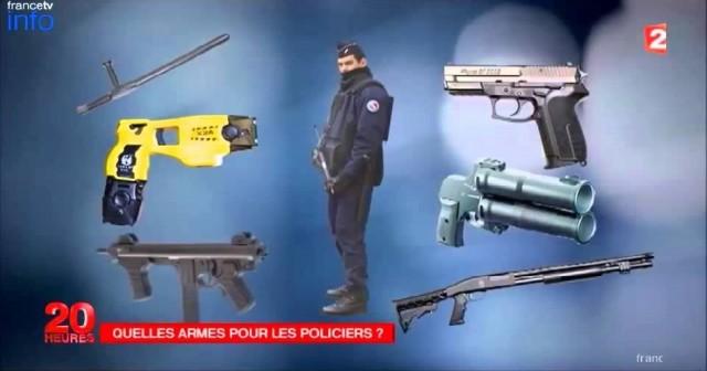 Le syndicat de police VIGI dénonce l'utilisation illégale d'armes en dotation dans la Police Nationale