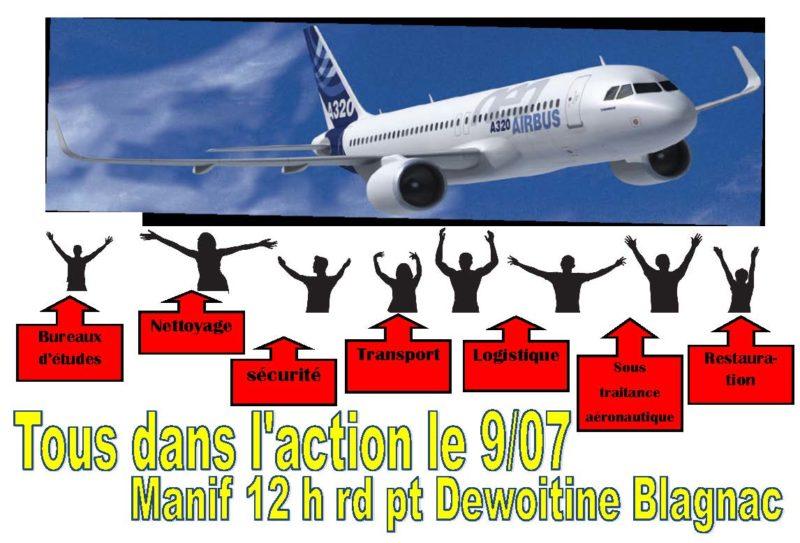 Airbus : la désindustrialisation tue #tract #PRCF31