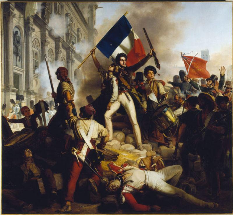 """Juillet 1830 / Juillet 2020, 190ème anniversaire des """"TROIS GLORIEUSES"""""""